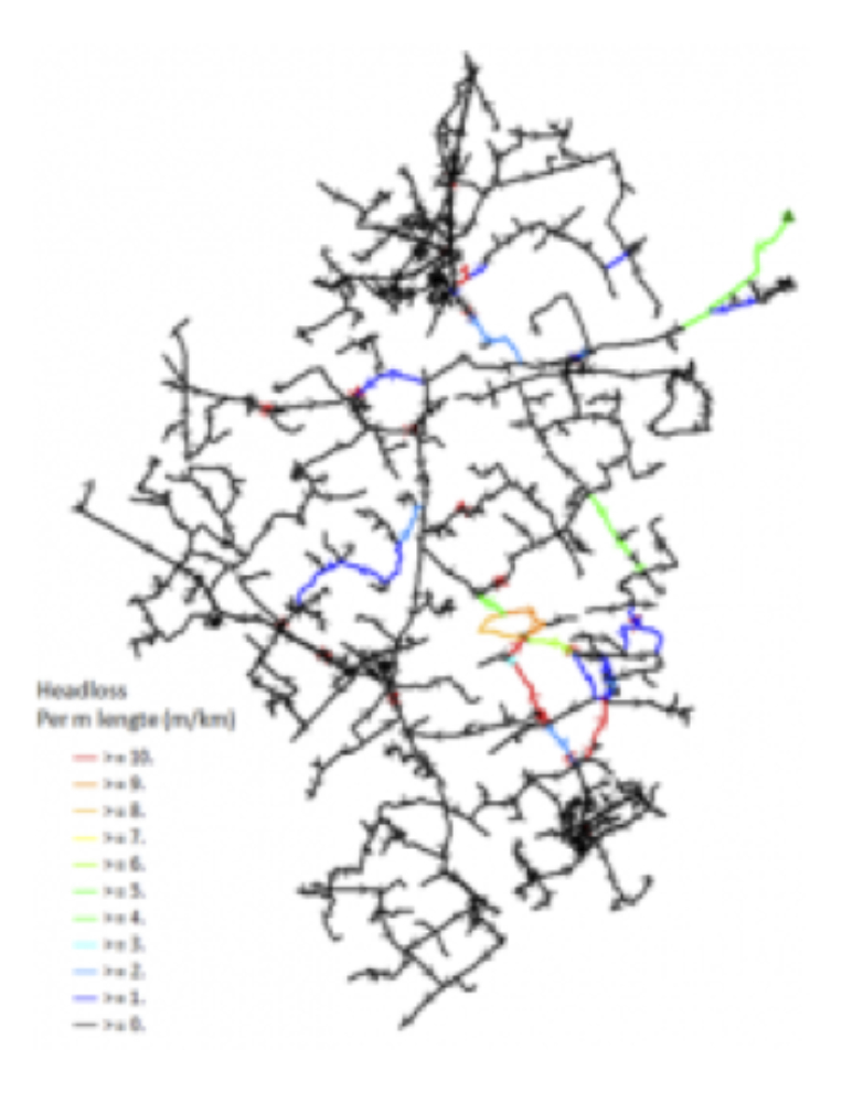 Drinking water network modelling